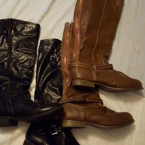 Bundle of boots